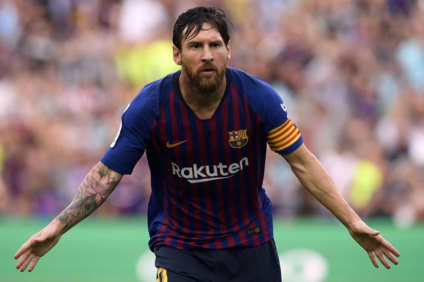 Veja imagens de Messi - (Foto: Lluis Gene / AFP)