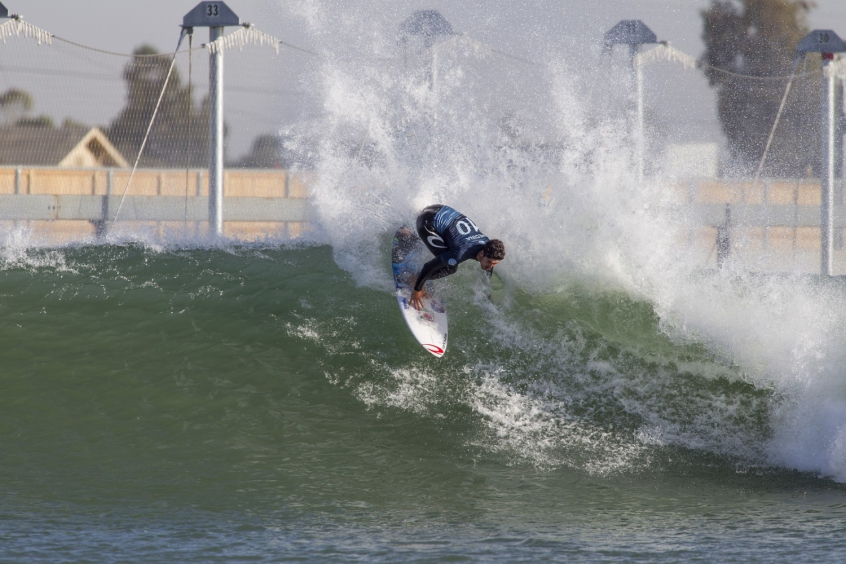 Medina assumiu a liderança em Surf Ranch nesta sexta-feira (Foto: Kenneth Morris/WSL)