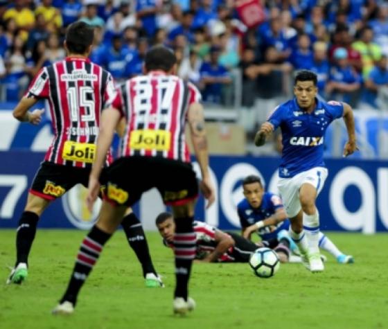 Romero tem sido um dos destaques da Raposa na temporada Washington Alves/Cruzeiro
