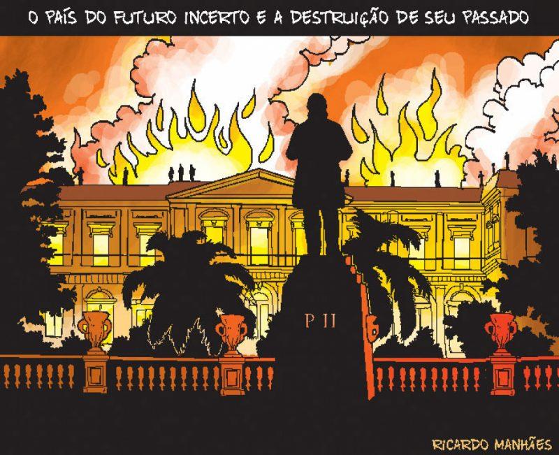 O país do futuro incerto e a destruição do seu passado