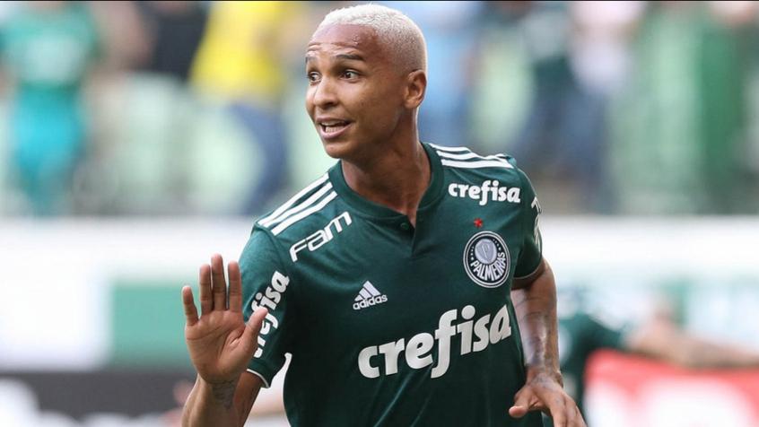 Deyverson foi o autor do gol sobre a vitória do Corinthians, no domingo (Foto: Divulgação/Palmeiras)