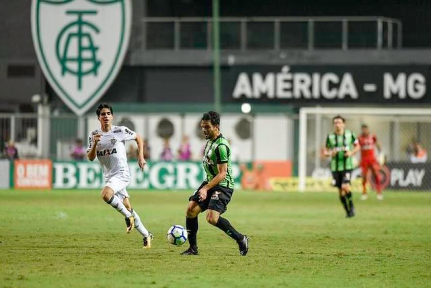 Norberto voltou bem ao time após ficar fora por lesão- Foto: Mourão Panda / Divulgação / América-MG