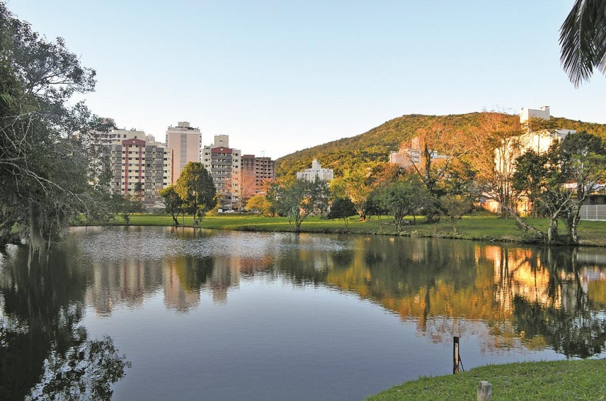 Vista do Parque Jardim Botânico, no bairro Itacorubi – Foto: Adriana Baldissarelli/Divulgação/ND