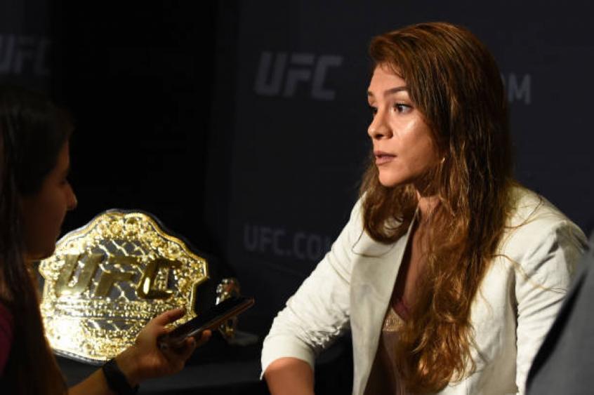 Nicco Montaño foi hospitalizada com problemas renais e não compareceu à pesagem do UFC 228 (Foto: Getty Images)