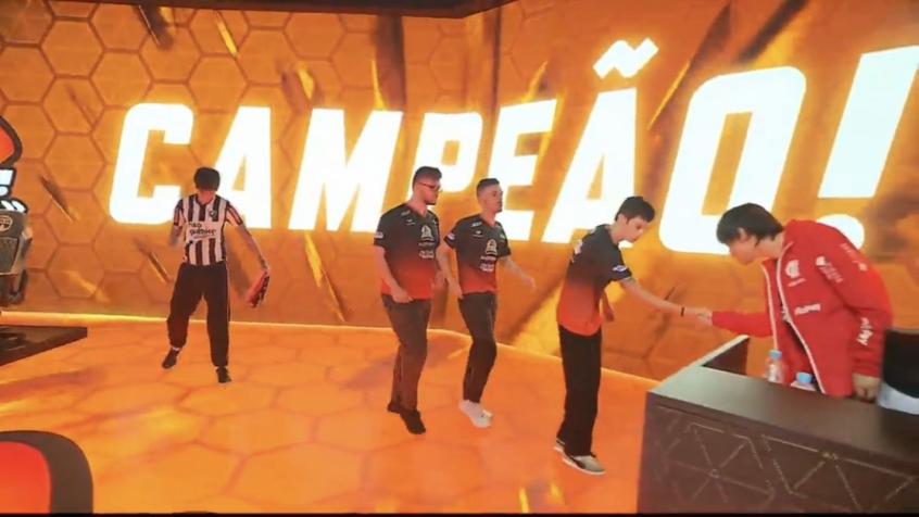 Flamengo foi derrotado pela KaBum! na decisão do Campeonato Brasileiro de LoL (Reprodução/Twitter)