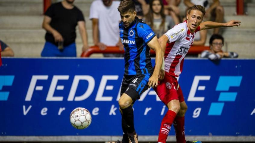 Luan Peres já tem seis partidas disputadas pelo Club Brugge (Foto: Club Brugge)