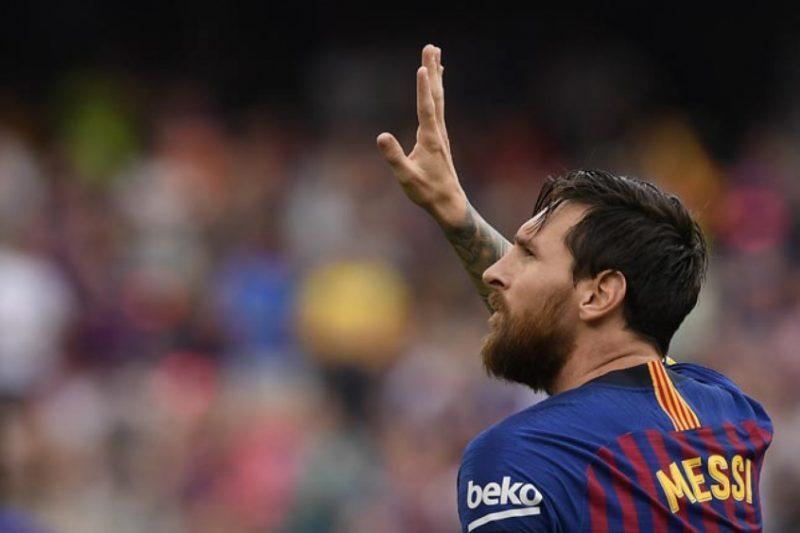 Messi já escreveu o nome na história do futebol – (Foto: Lluis Gene/AFP)