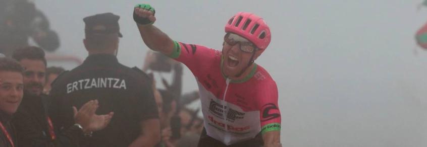 Michael Woods venceu a 17ª etapa da Volta da Espanha nesta quarta-feira (Foto: Divulgação/La Vuelta)