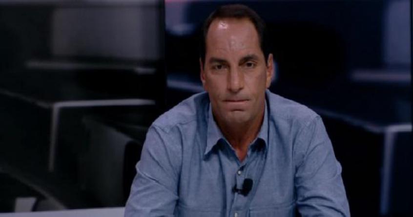 Pistolou! Edmundo e PVC voltaram a trocar farpas (Imagem: Reprodução/Fox Sports)
