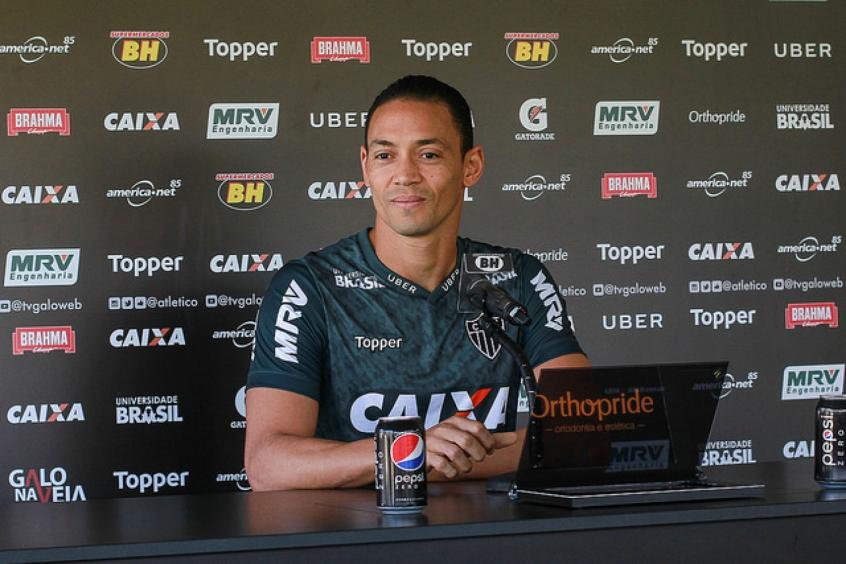 O avante alvinegro é o vice-artilheiro do campeonato com nove gols (Foto: Bruno Cantini / Atlético-MG)