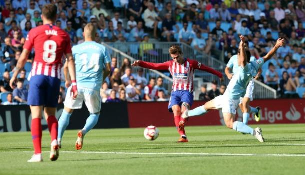 Celta de Vigo 2x0 Atletico de Madrid - Reprodução/Twitter