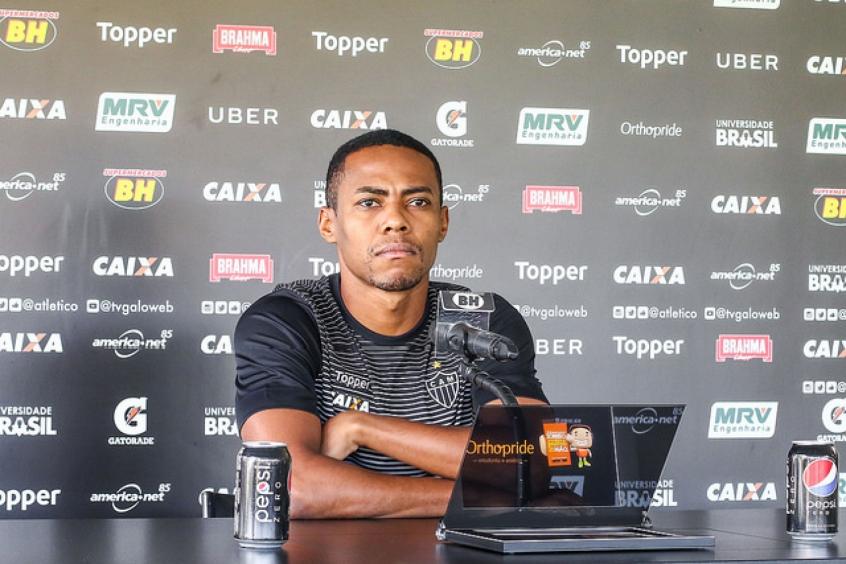 O volante falou também que o Galo tem de fazer mais a sua parte para entrar de vez no G4- (Foto: Bruno Cantini / Atlético-MG)