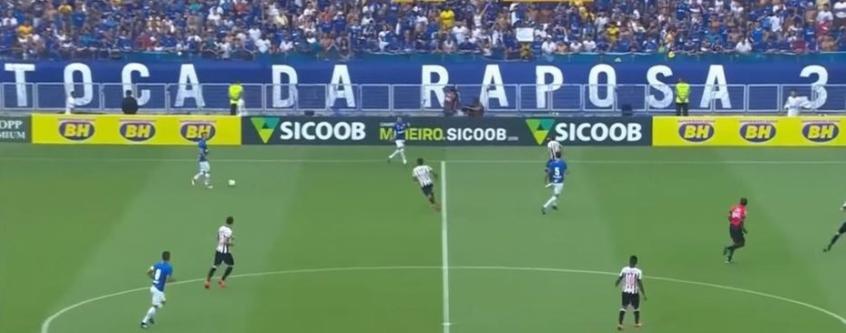 A faixa gerou discórdia entre Cruzeiro e Minas Arena - Reprodução