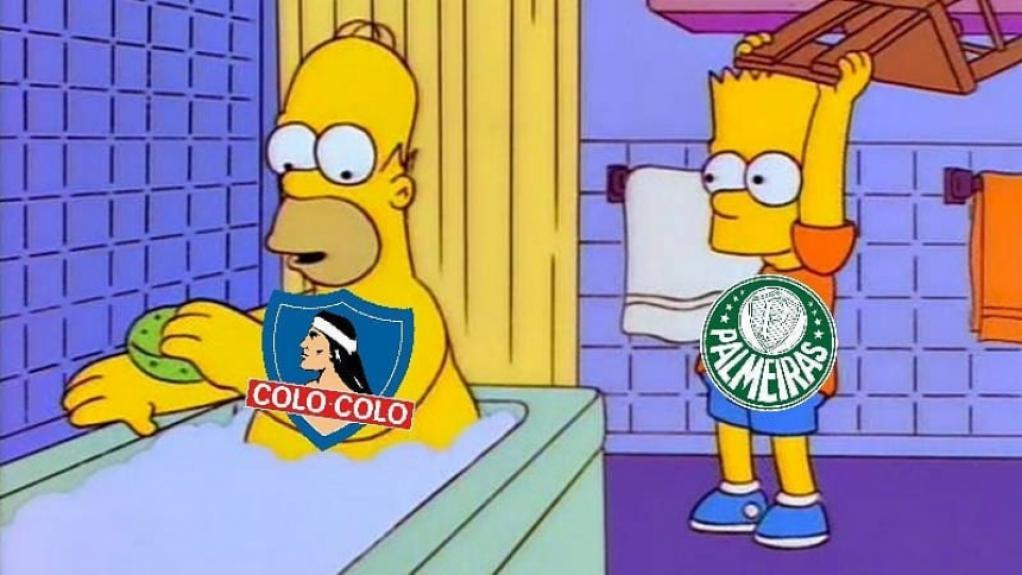 Os melhores memes da vitória do Palmeiras diante do Colo-Colo pela Libertadores  -  Reprodução