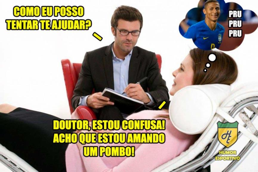 Os memes de Brasil 5 x 0 El Salvador  -  Reprodução