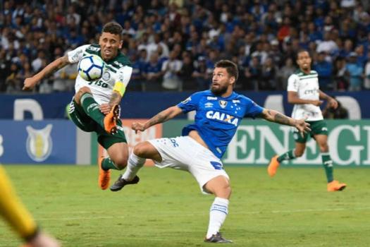 Último confronto: Cruzeiro 1 x 0 Palmeiras - 30/5/2018 - Gustavo Rabelo / Photo Press