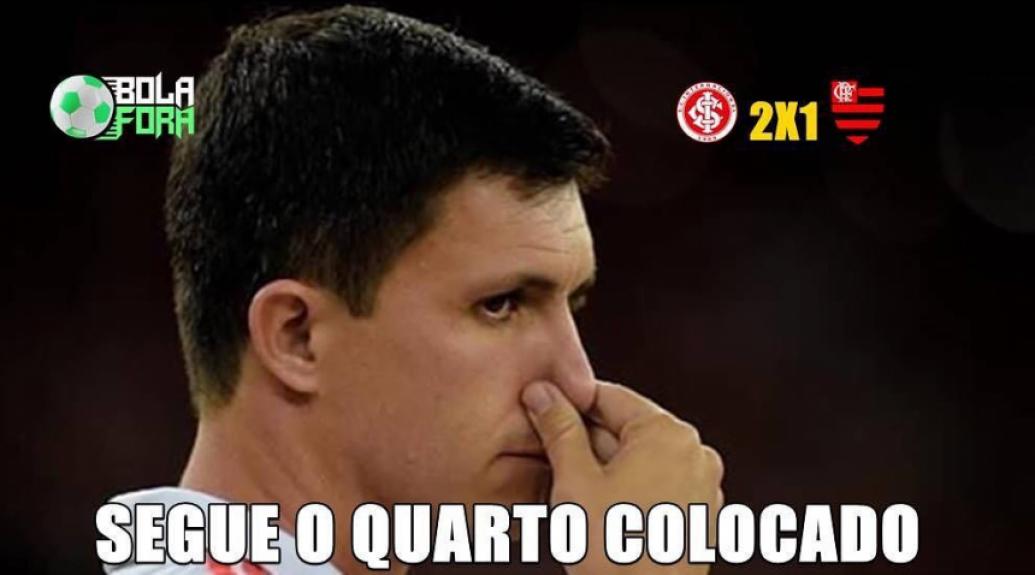 Memes: Internacional 2 x 1 Flamengo - Reprodução