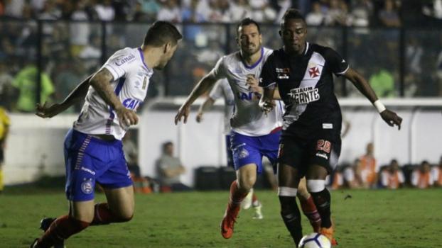 Vasco 2 x 0 Bahia - último encontro aconteceu em 16 de julho, em São Januário, pela Copa do Brasil, com o Vasco caindo  -  Reginaldo Pimenta/R Image