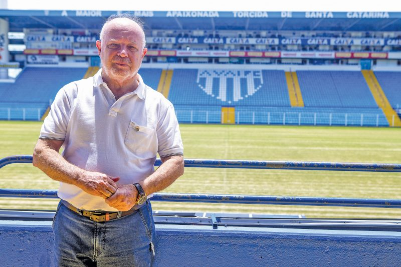 Francisco Battistotti, presidente do Avaí – Eduardo Valente/arquivo/ND