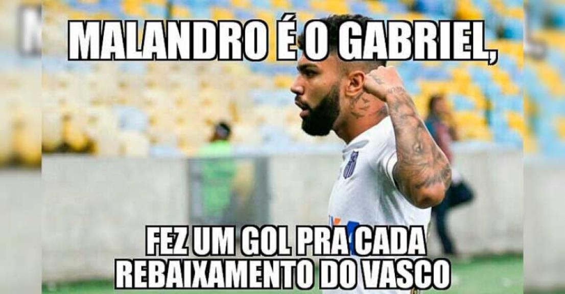 Os melhores memes de Vasco 0 x 3 Santos  -  Reprodução