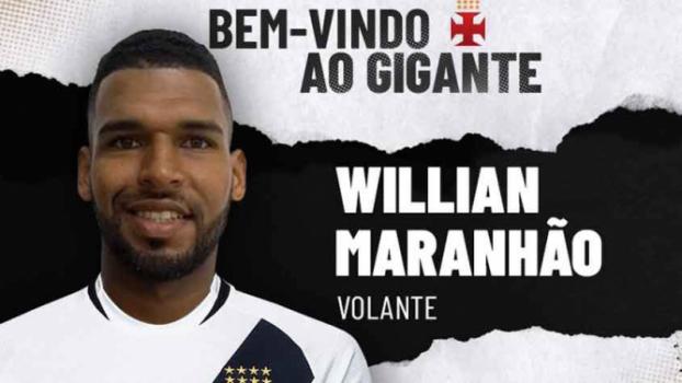 Vasco confirmou Willian Maranhão na manhã desta quarta-feira. Confira a seguir a galeria especial do LANCE! - (Foto: Divulgação)