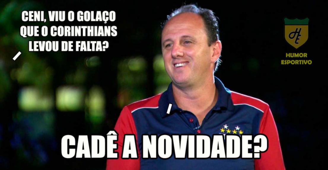 Os melhores memes de Ceará 2 x 1 Corinthians - Reprodução