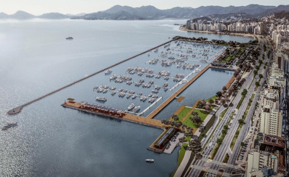 Projeto arquitetônico do Parque Urbano Marina Beira Mar Norte já está definido - Divulgação/ND