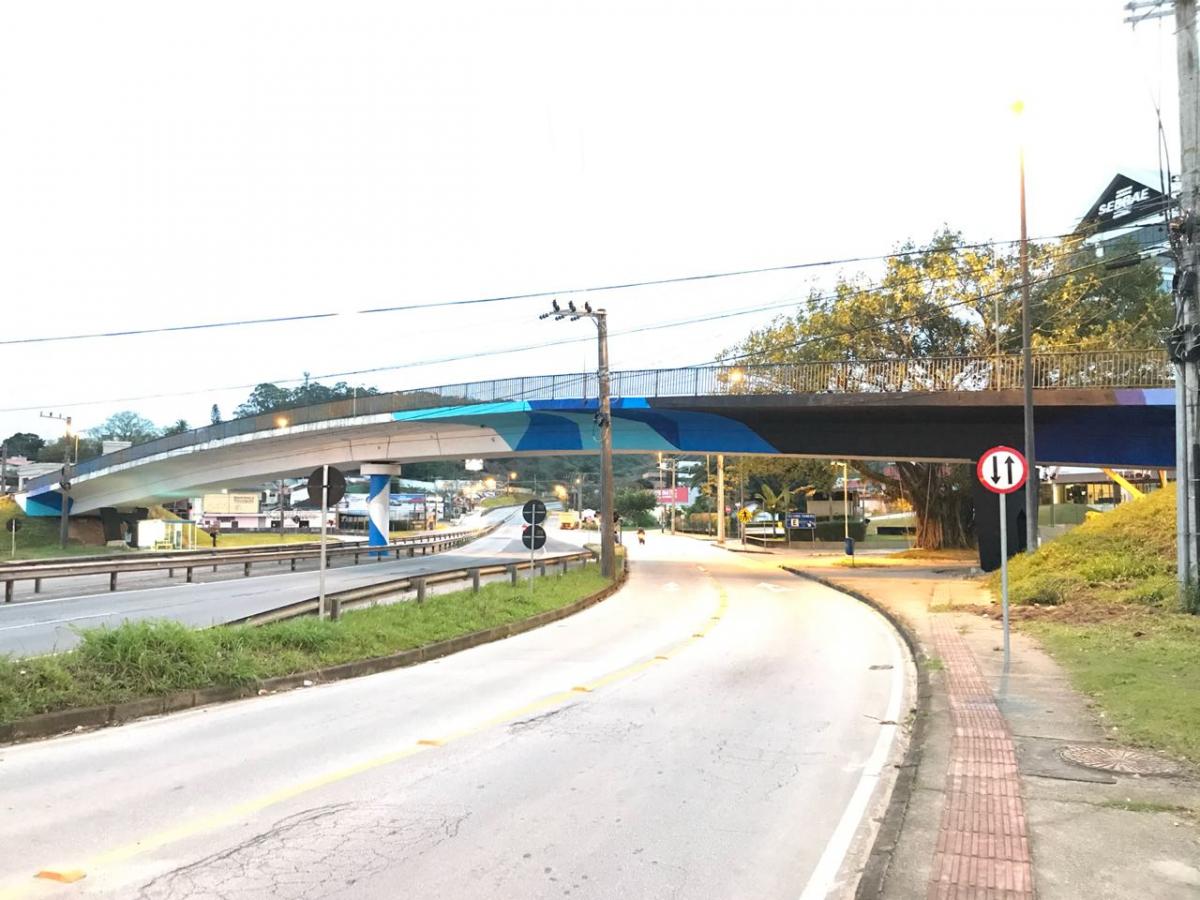 Prefeitura começou o processo de revitalização nesta quinta-feira (13) - PMF/Divulgação