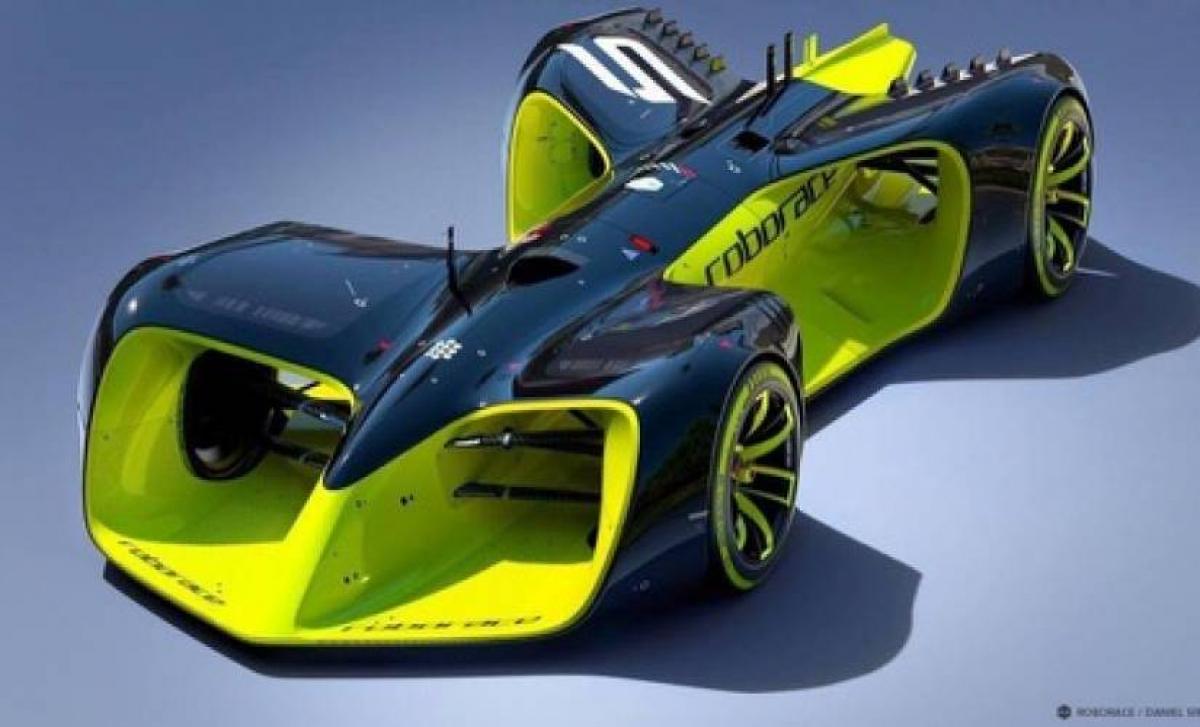 Veículo autônomo construído para a Robo Race é laboratório para o que será usado nas ruas - Divulgação/ND