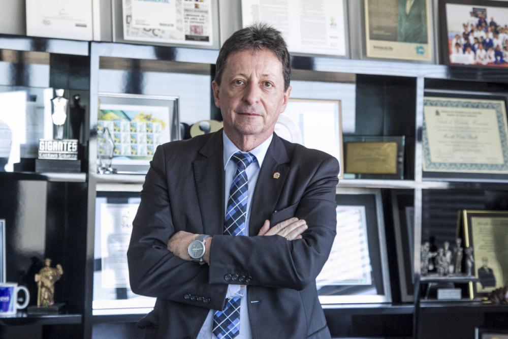 Presidente do TRE-SC, Ricardo Roesler - Marco Santiago/ND