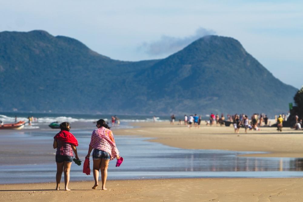 Domingo de caminhada na praia do Riozinho - Daniel Queiroz