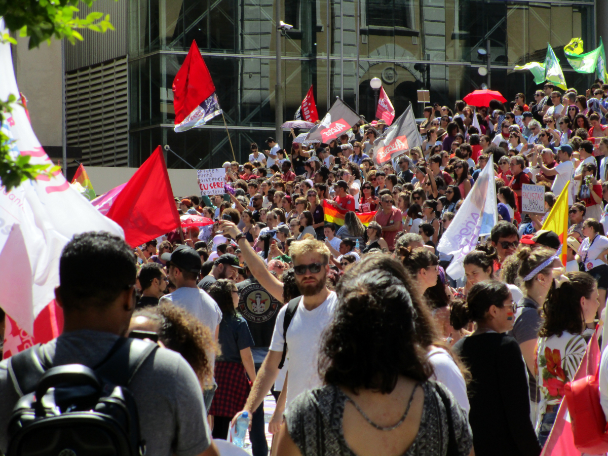 Concentração começou ás 10h, no Largo São João Paulo 2º (Catedral) - Carlos Damião