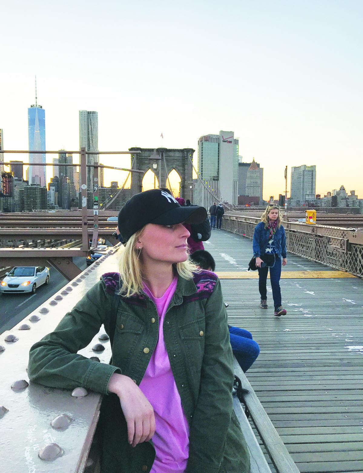 Viagem a Nova York, cidade que ela Mônica considera bem segura - Acervo Pessoal/ND