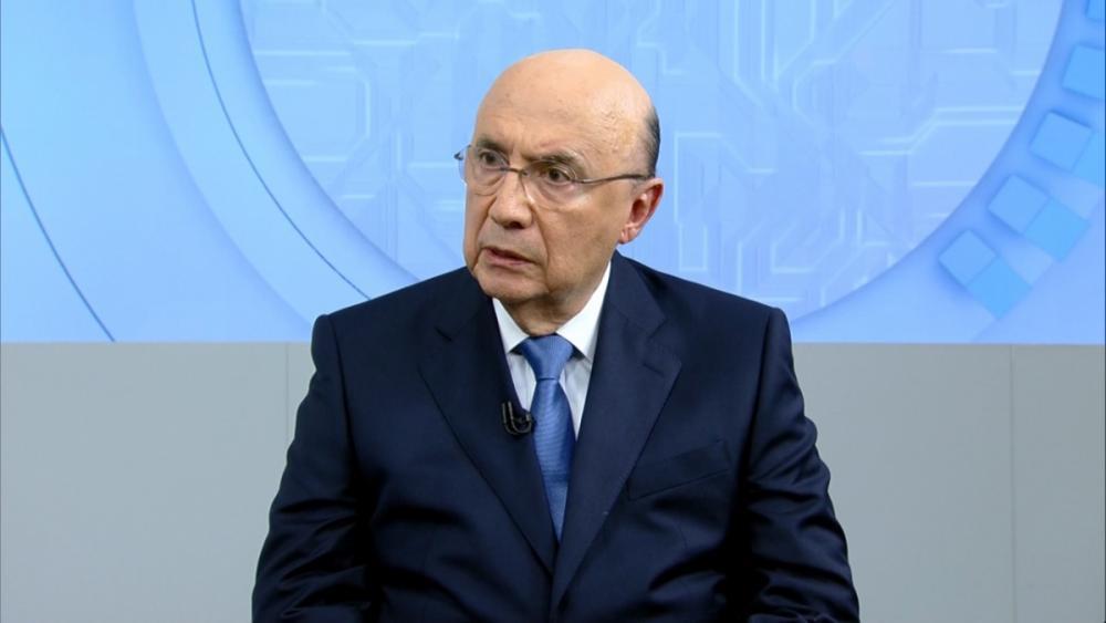Henrique Meirelles, em entrevista na Record TV - Record TV