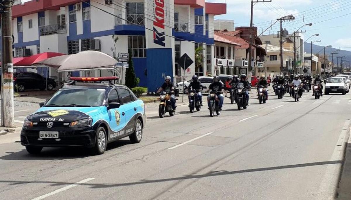 Moto Passeio da Proclamação da República 2017 - DIVULGAÇÃO/ND