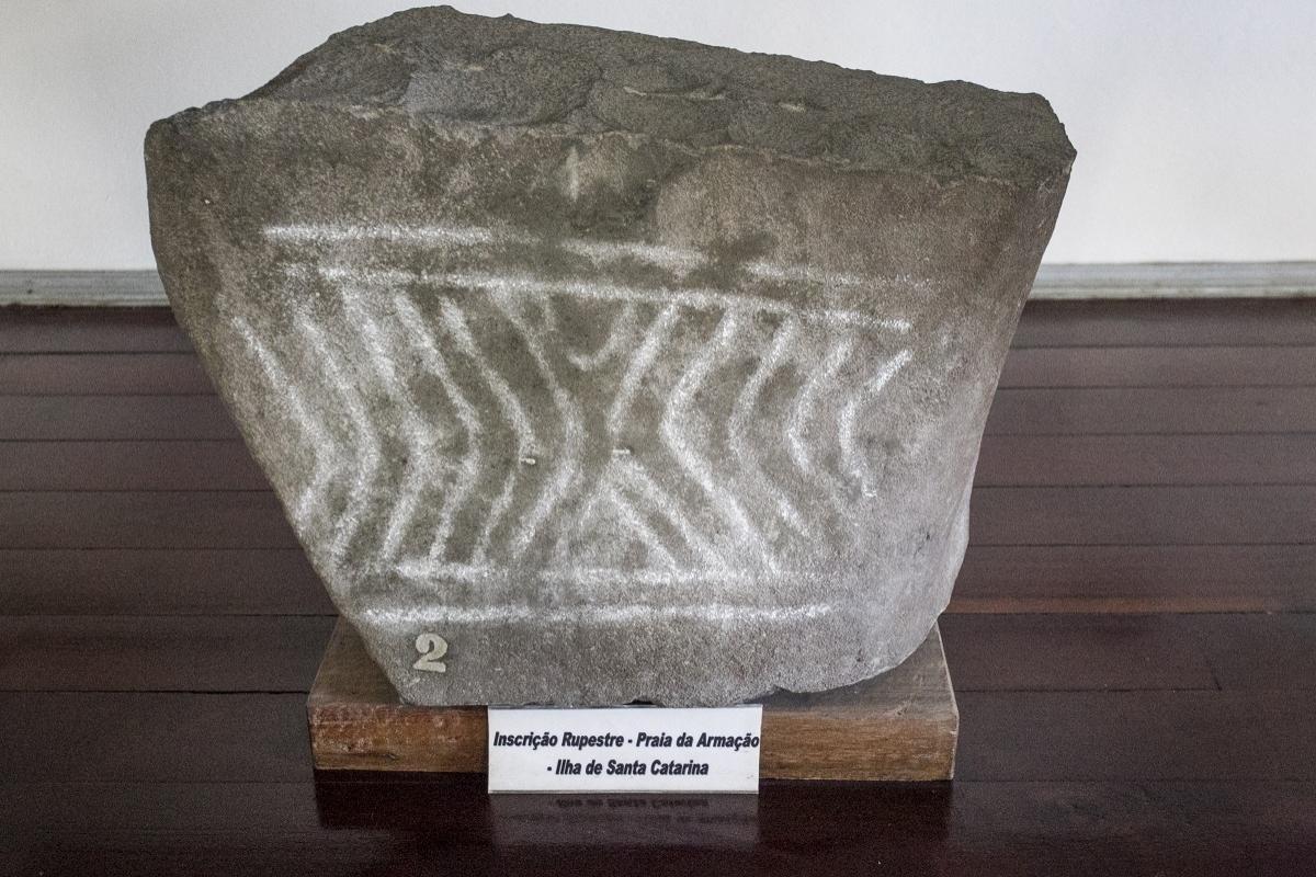 oficinas líticas são um conjunto de concavidades em rochas que eram usadas para produção de artefatos a partir de outras rochas - Marco Santiago/ND