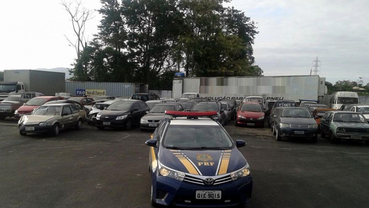 Leilão da Polícia Rodoviária Federal - PRF/Divulgação
