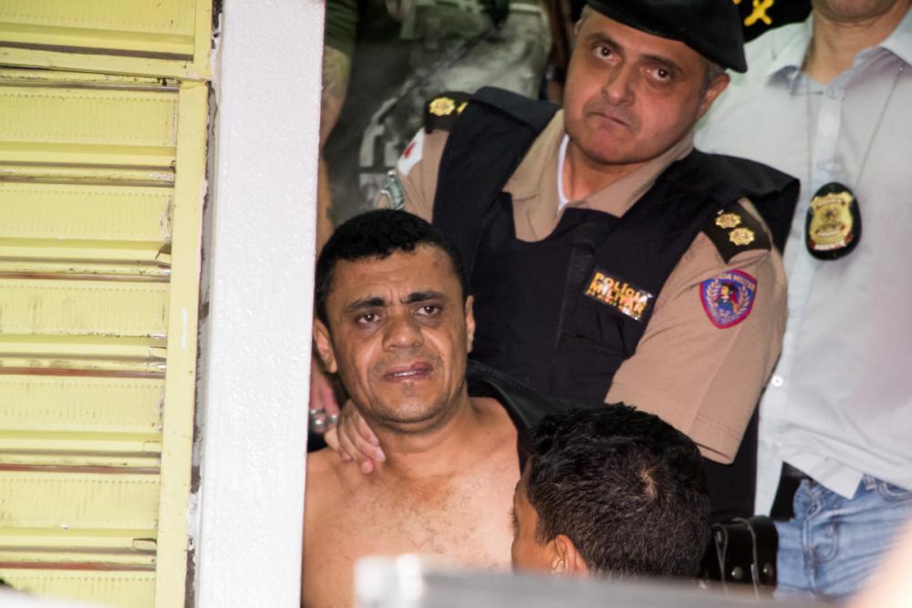 Adelio Bispo foi detido por seguranças e policiais em Juiz de Fora - Guilherme Leite/Folhapress
