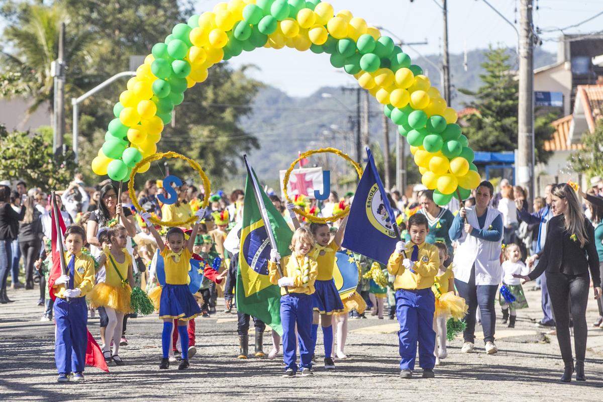 Desfile de 7 de Setembro em Florianópolis - Marco Santiago/ND