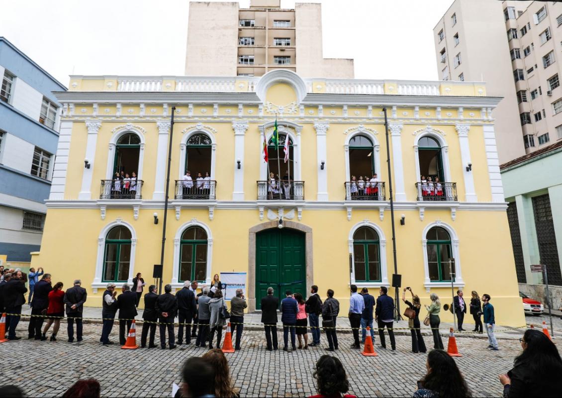 Administração municipal entregou o prédio ao Sesc nesta sexta-feira (14) - Cristiano Andujar, divulgação ND