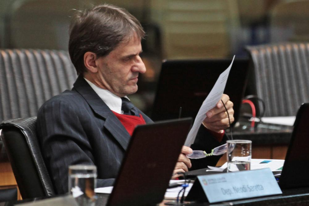 Neodi Saretta - Fábio Queiroz/Agência AL/ND