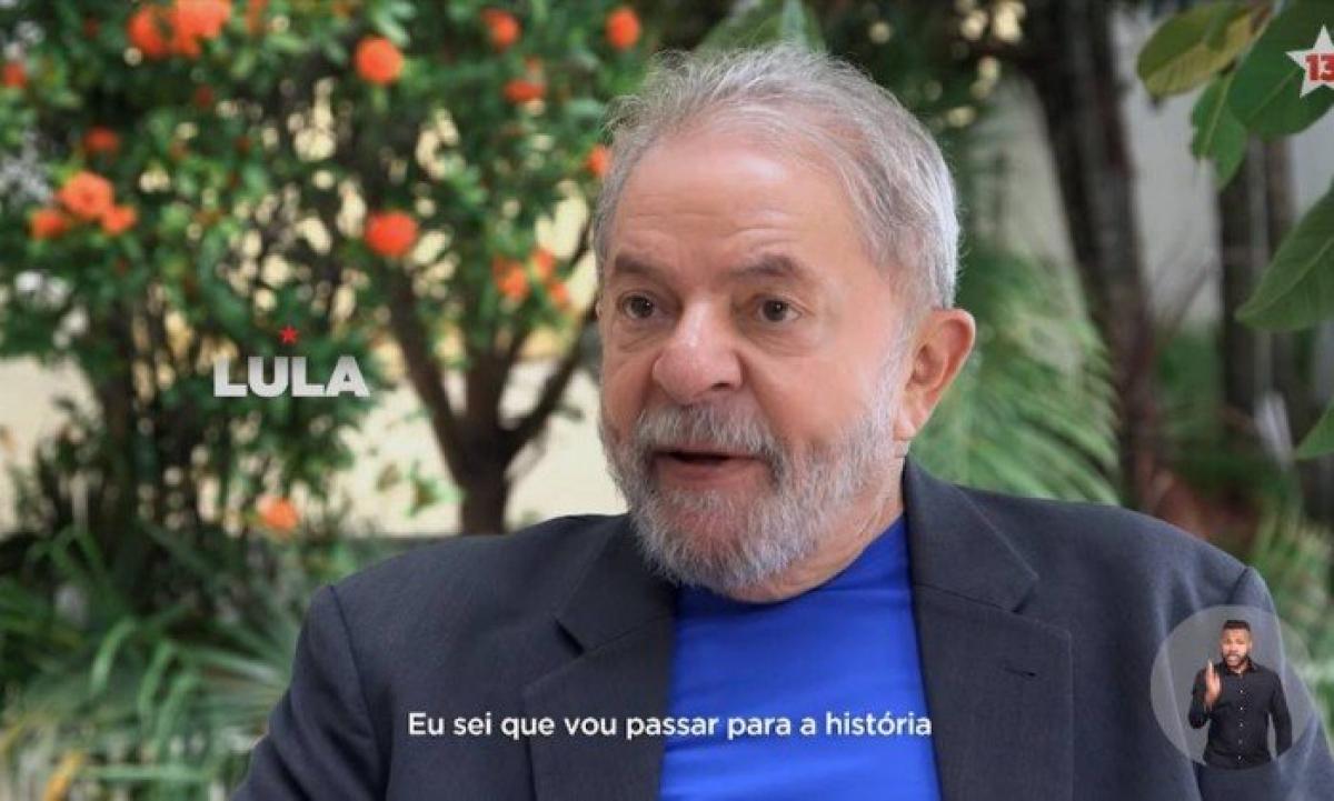 Partido Novo vai ao TSE contra propaganda do PT que exibe Lula - Reprodução