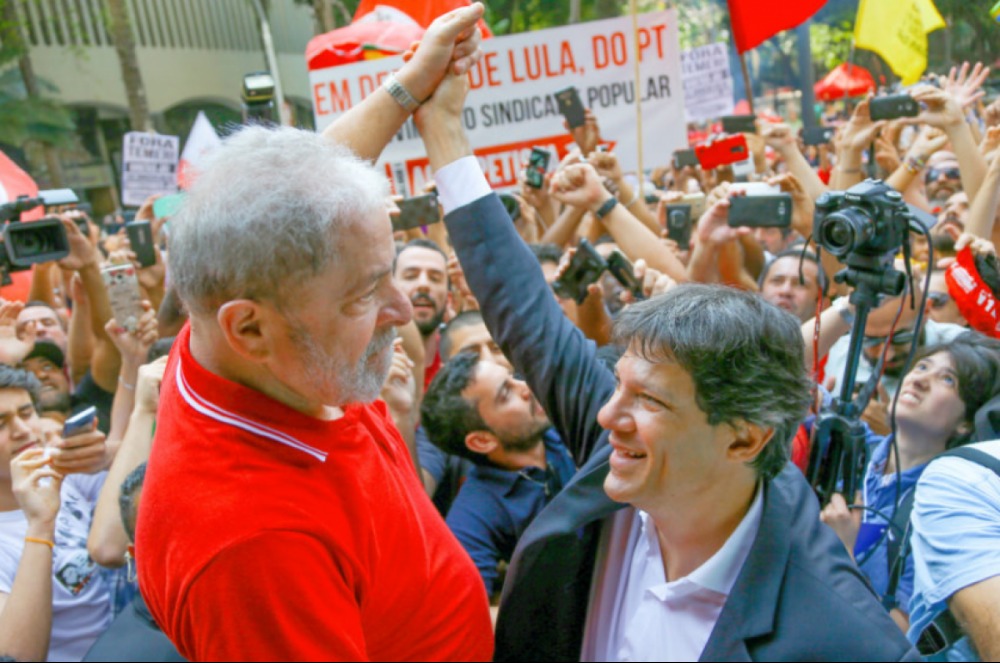 PT ainda se divide sobre troca de Lula por Haddad - Ricardo Stuckert/Agencia PT