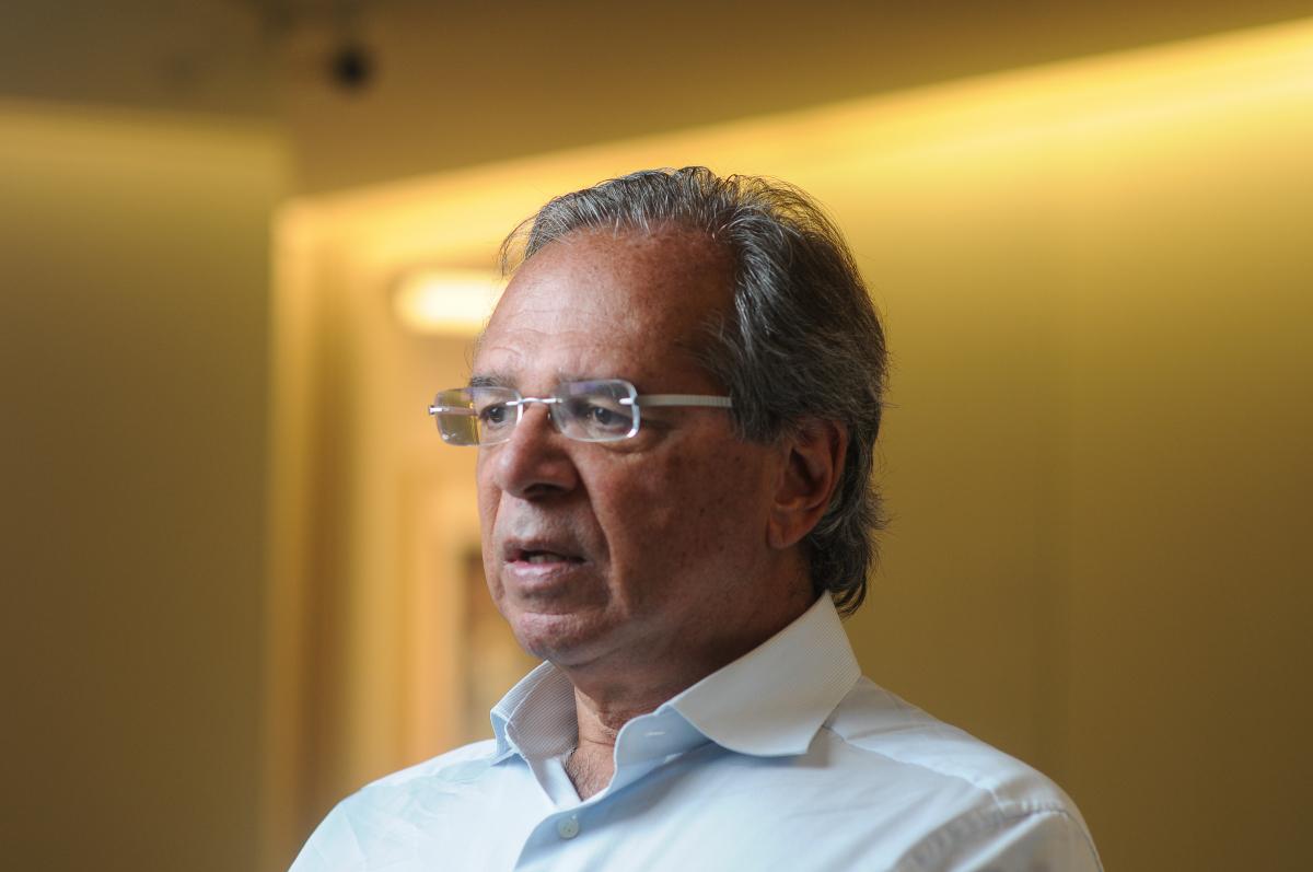 No exemplo mais estridente está o economista Paulo Guedes, do candidato Jair Bolsonaro (PSL) - Claudio Belli/Valor/Folhapress