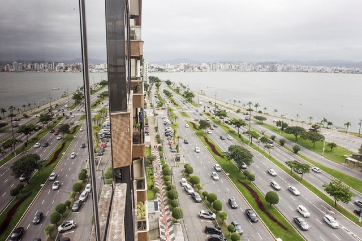 De 2015 a 2018, Florianópolis passou da oitava para a quinta posição no ranking das cidades inteligentes - Marco Santiago/Arquivo/ND