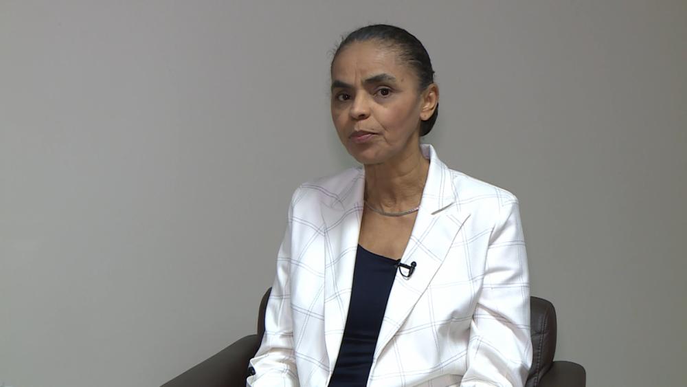 Pré-candidata à presidência Marina Silva - Reprodução/ND