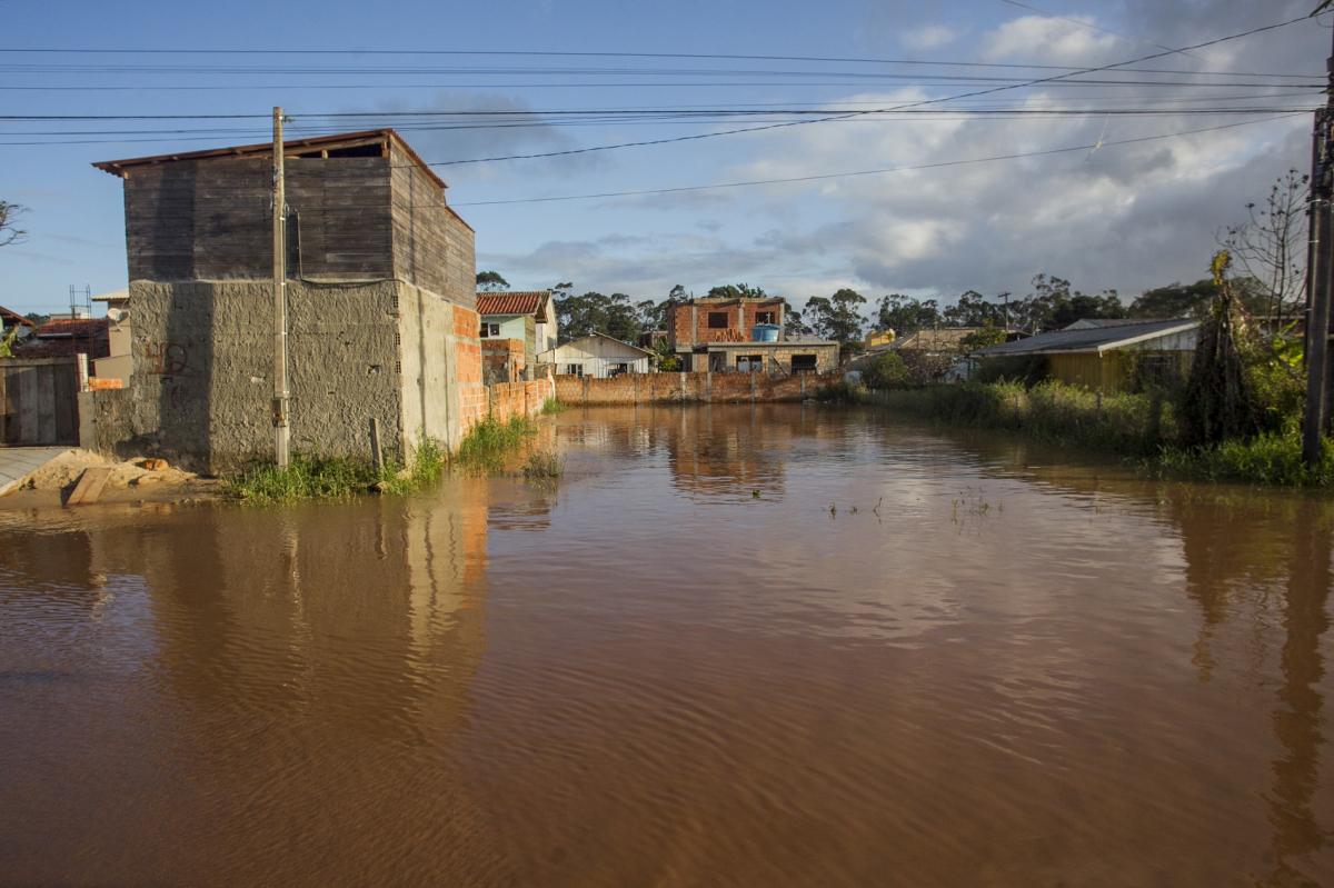 Alagamento no Rio Vermelho - Marco Santiago/ND