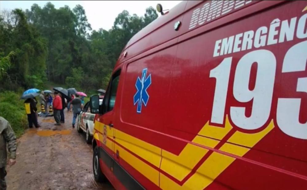 O corpo da estudante foi encontrado a cerca de 800 metros do ponto onde ela desembarcou - Reprodução/RICTV Record