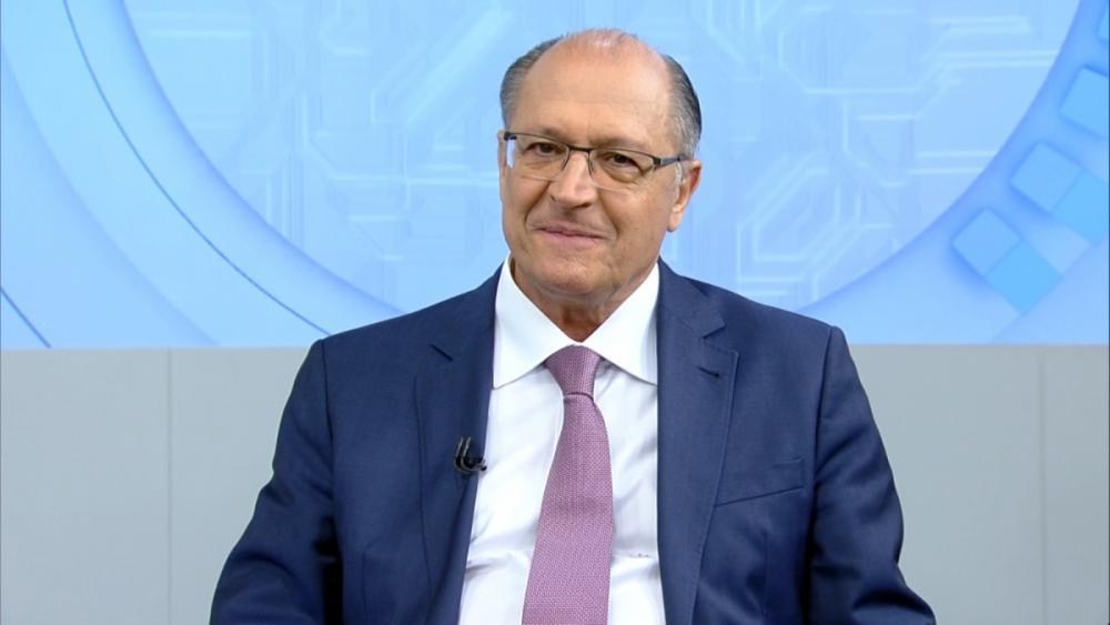 Alckmin defende a redução do número de ministérios - Record TV/Divulgação/ND