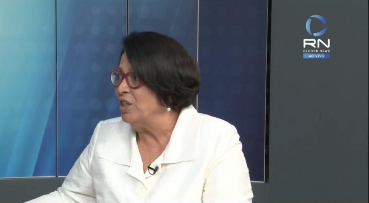 Ideli Salvatti participou de entrevista para a Record News nesta quarta-feira (12) - Record News/Divulgação